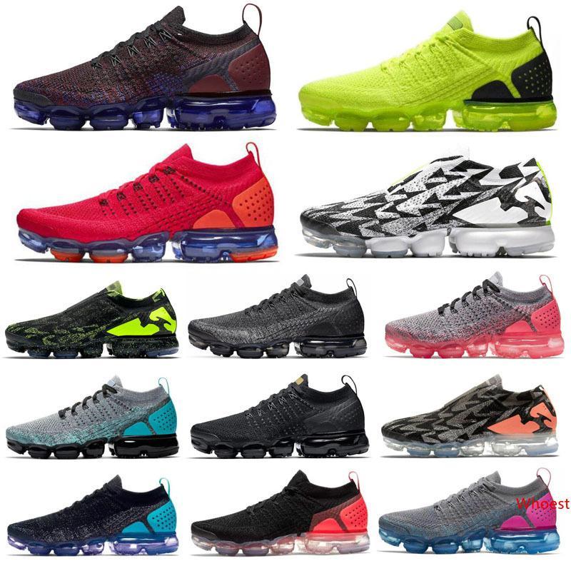 2020 Örgü 2.0 erkekler kadınlar koşu ayakkabıları ACRONYM Işık Kemik Siyah Volt Sıcak Punch Üniversitesi Erkek Eğitmenler Tasarımcı Spor Sneaker 36-45 kırmızı