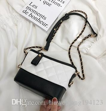 2020 yeni kadın yüksek kaliteli eğlence moda Tek omuz çantası zincir paket haberci çantası Kepçe çantası