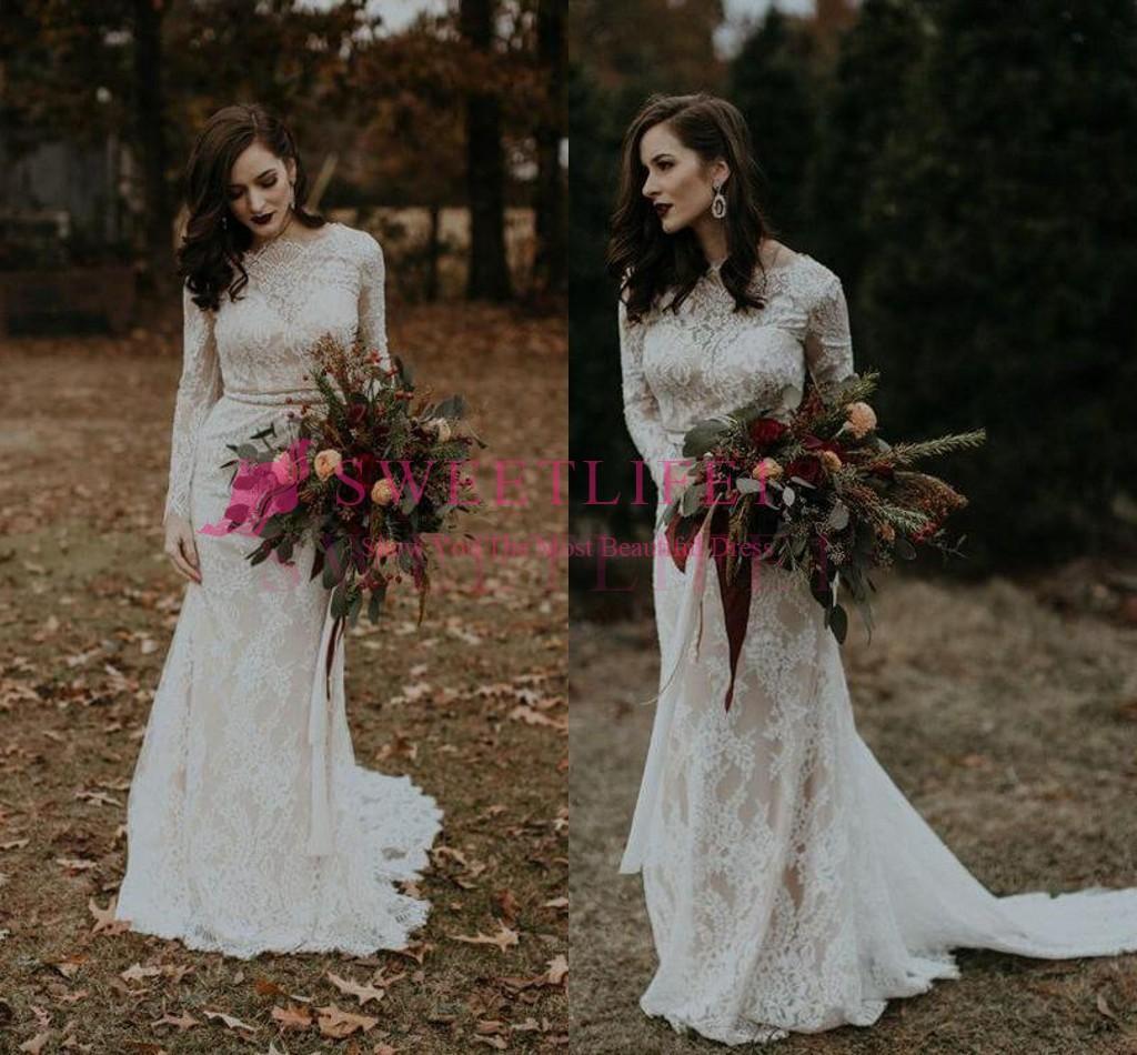 Rustic Romantic Wedding Dresses