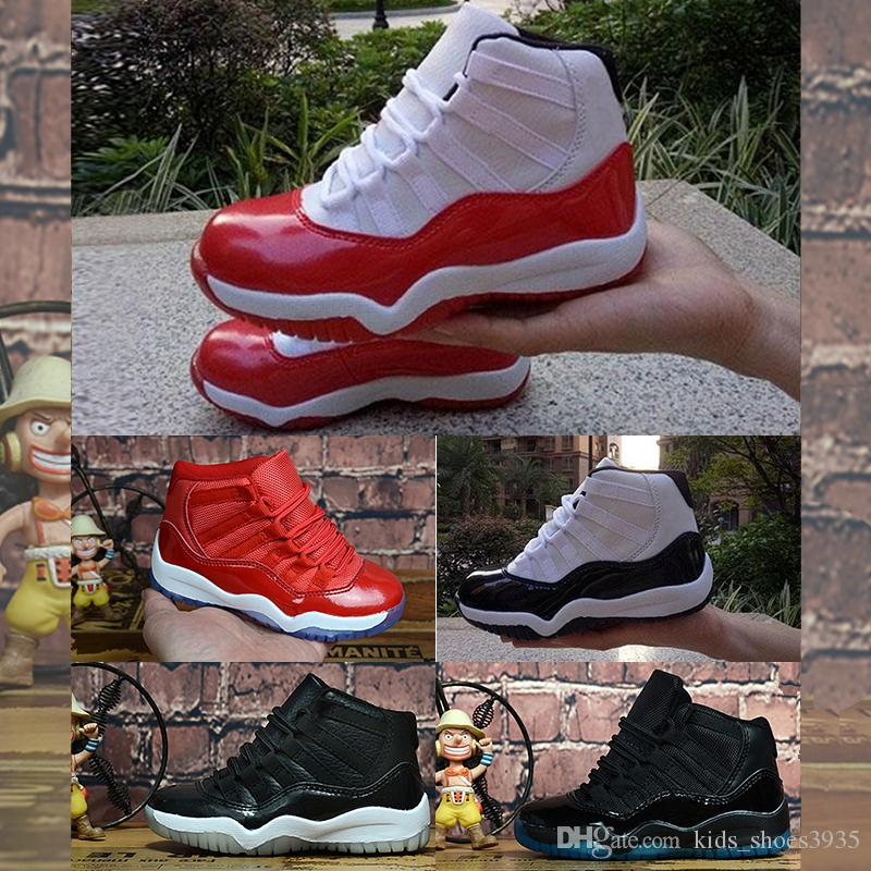 Sale Womens 11 Jumpman XI basketball shoes J11 Wool Midnight Navy Legend Blue Space Jam 45 11s sneakers for youth kids boys girlsV