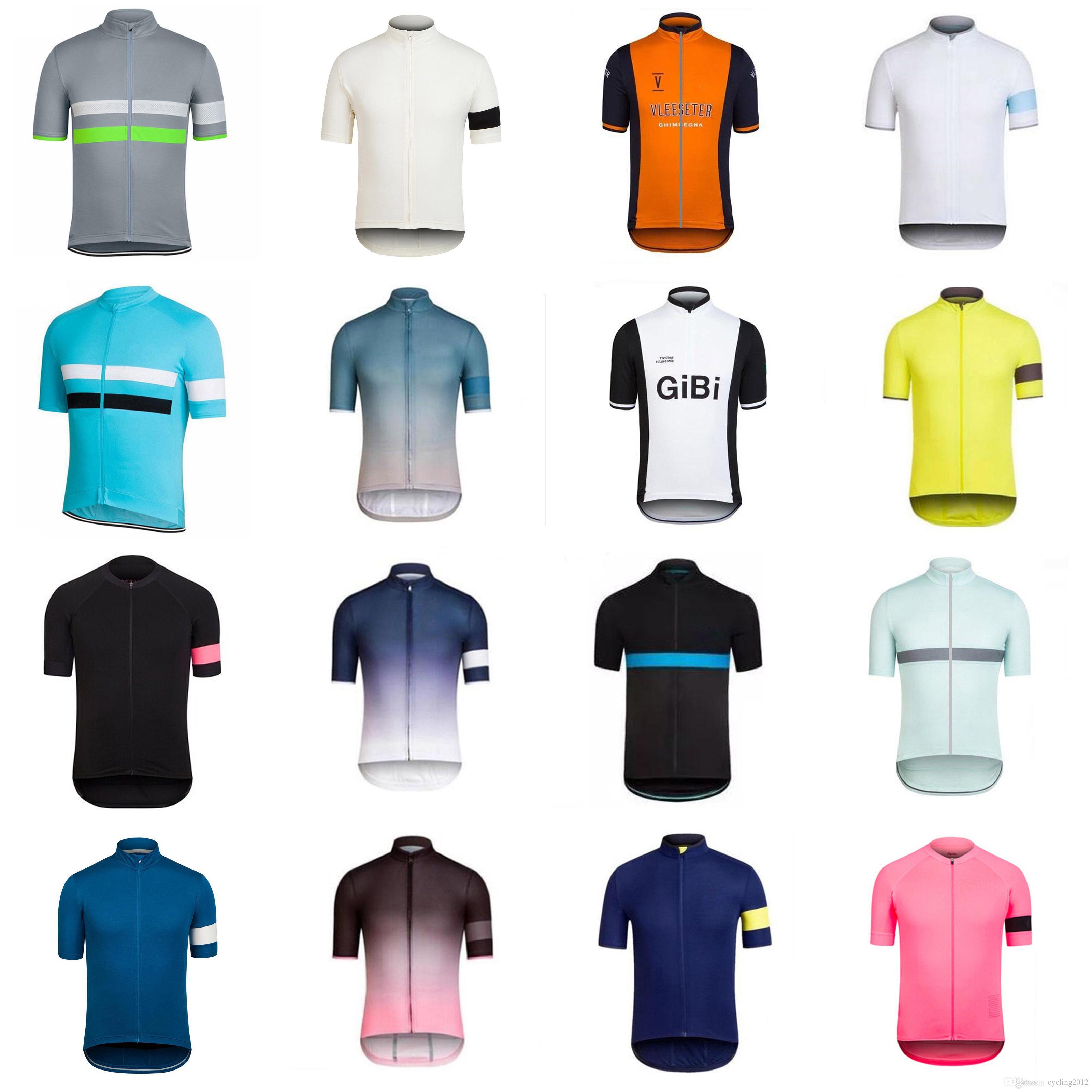 Rapha 2018 мужская команда велосипед с коротким рукавом / без рукавов Джерси жилет велосипедные рубашки Летняя велосипеда дышащая быстрый сухой F1113