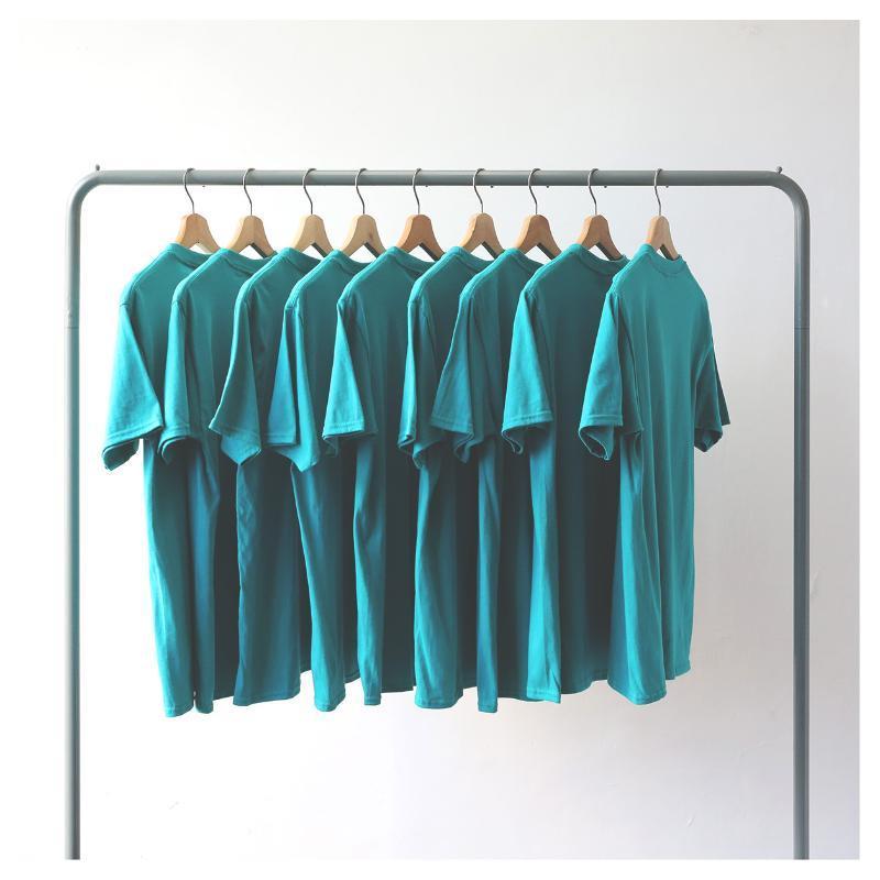 100% Casais algodão T básico Camisetas O-Neck Mulheres de manga curta Mens camiseta Harajuku Tops Casual para Mulheres Verão Tees