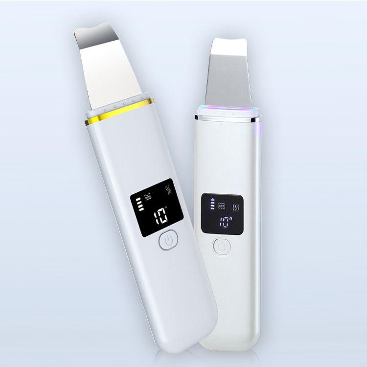 Uso en el Hogar limpiador ultrasónico de la piel facial Peeling Pala Mini Massager depurador de dispositivos para rejuvenecimiento de la piel bajo precio