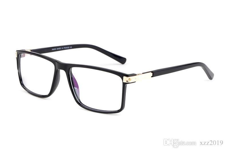 reading glasses rectangle full frame glasses Classic Brand Eyeglasses Coating Lens comfortable Eyewear with free cases and box