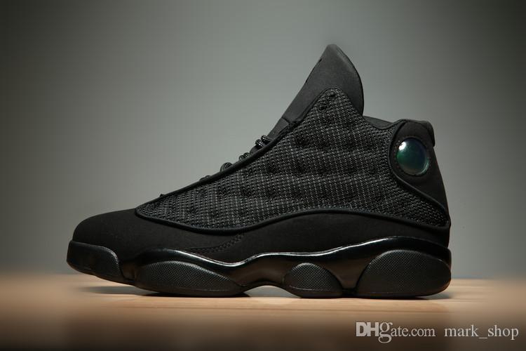 HAVA Serisi Spor ayakkabı erkekler basketbol Ayakkabı Spor Sneakers Dış mekan ayakkabıları Üst Kalite Boyut 40-46 Of Siyah 3M Yansıtıcı 13 Kuşağı
