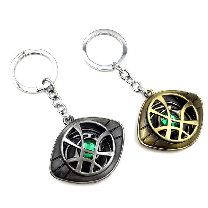 Fashion Jewelry Avengers Alliance Doctor Strange Necklace with Strange Accessory Keys