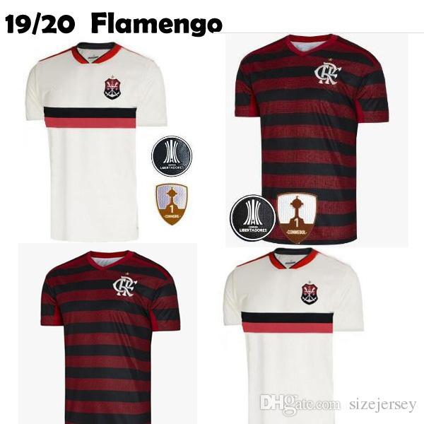 Acquista 2019 20 Flamengo Casa Lontano Maglia Fiammingo GUERRERO DIEGO Vinicio JR Maglie Calcio Brasile Flamengo GABRIEL B Camicia Di Gioco Del Calcio ...