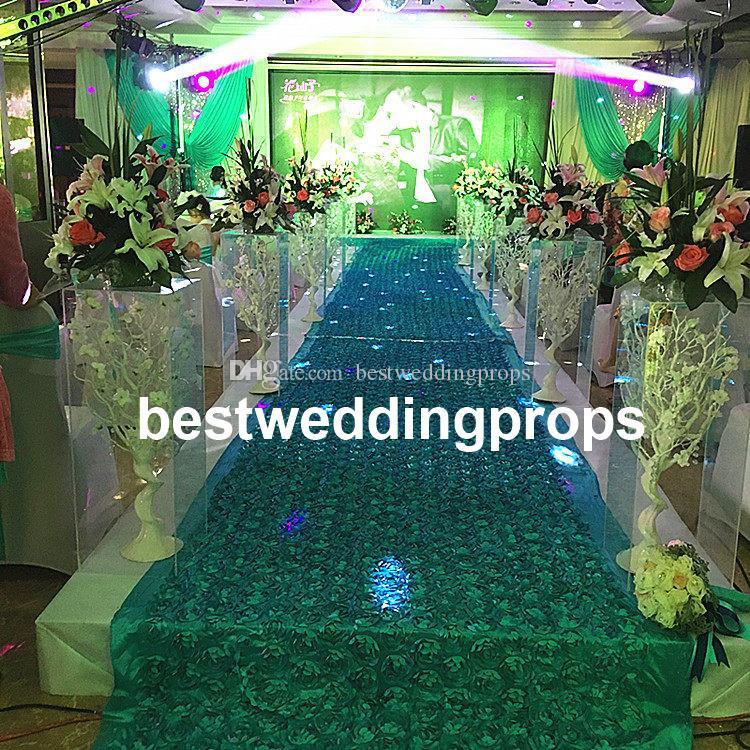 Les nouveaux accessoires de mariage accessoires de route accessoires de mariage arrangement colonne carrée produits en cristal route acrylique conduit best0610