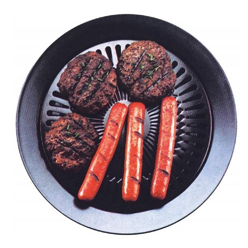 Portable coreano all'aperto senza fumo Barbecue a gas Grill Pan domestica senza fumo Cucina a gas bbq piastra Torrefazione Cooking Set di attrezzi