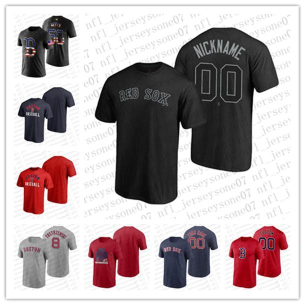 jeunes hommes sur mesure femmes BostonRed Sox46 Perez 9 Williams gris noir rouge Week-end authentique 2020 Accueil T-shirt Jersey