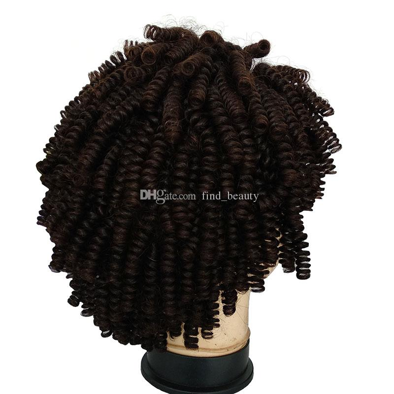 14 Inch Kinky Curly Natural Hairline Human Hair Lace Front Wig Brazilian Human Hair 150% Density Curly Wig for Black Women