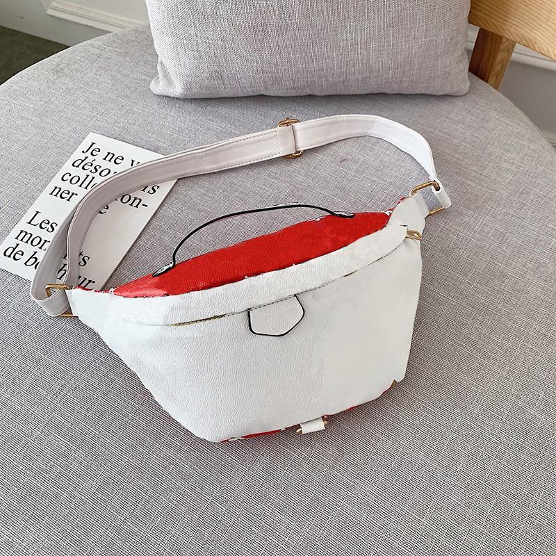 Sıcak Satış Mens Fanny Paketi Bel Çantası İçin Kadınlar Bayanlar Göğüs Çanta Moda Fannypack 20061701X