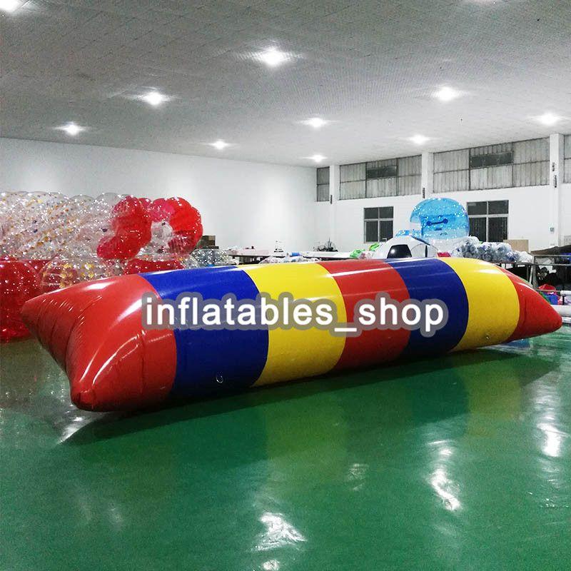 شحن مجاني 10x3 متر 0.9 ملليمتر pvc نفخ فقاعة الماء القفز أكوا الهواء فقاعة القفز نفخ فقاعة الماء الترامبولين القفز وسادة