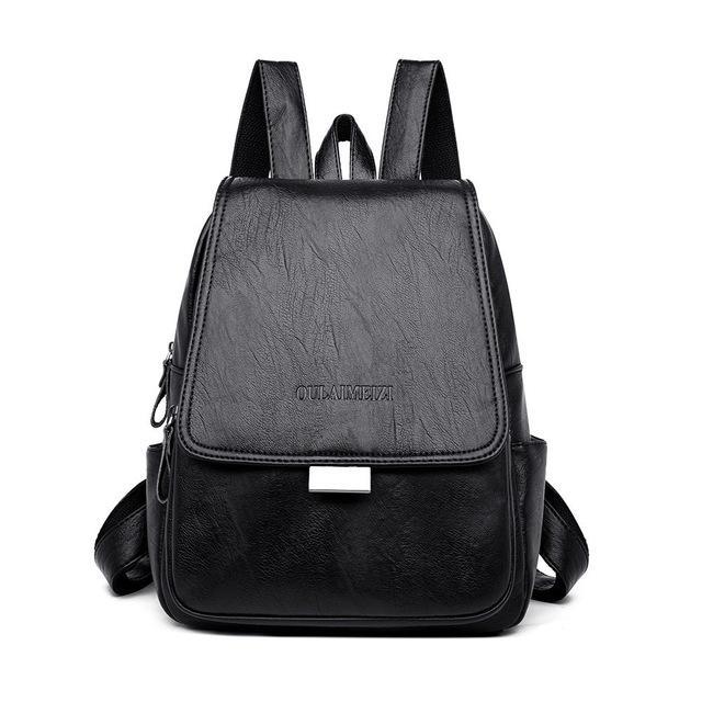 Новый высокое качество женщин кожаный рюкзак мешок Dos Леди путешествия рюкзак мода студентка сумка Сумка mochila