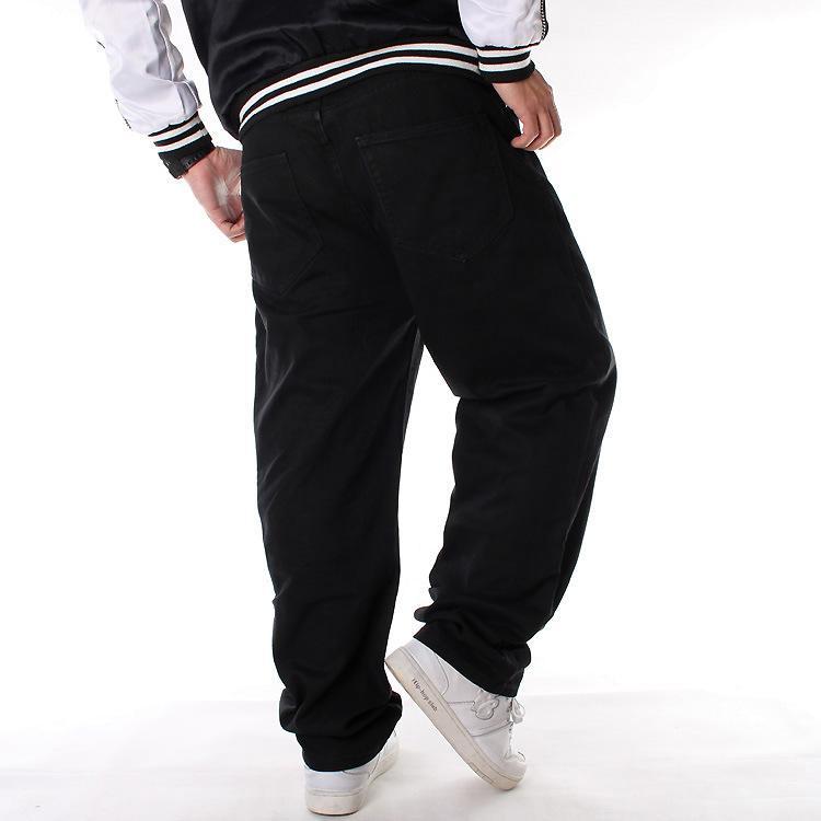 Europa y los Estados Unidos HIPHOP monopatín de los pantalones vaqueros de hip hop pantalones, además de fertilizantes más el tamaño 109 casuales de la moda de los hombres