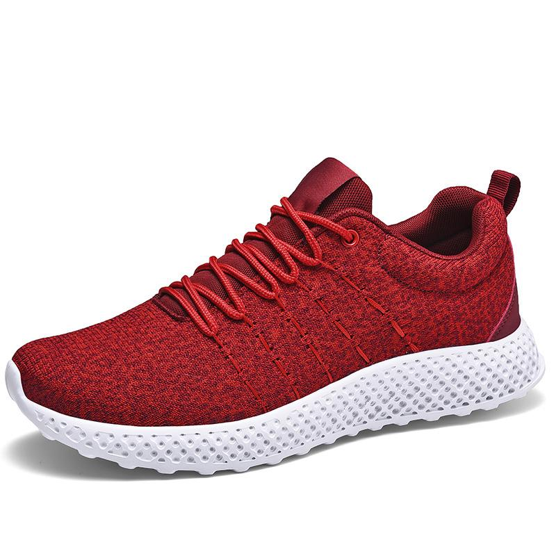 Men's Running Shoes 2020 Spring and Autumn Light Comfortable Breathable Non-slip Wear Resistant Casual Man Sneakers