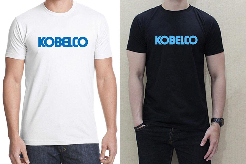 KOBELCO LOGO JAPAN STEEL Men Black White T Shirt 100% Cotton Personalized  Tee Quirky T Shirts Hilarious Shirts From Nolifeshirt, &Price