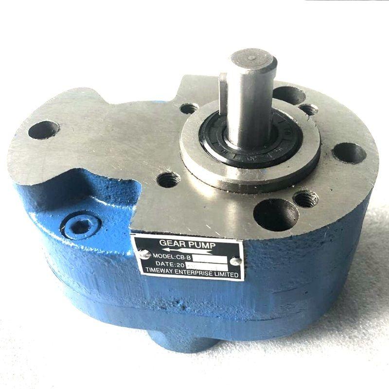 CB-B16 bomba de óleo de engrenagem hidráulica CB-B20 CB-B25 fabricantes no sentido horário bomba de baixa pressão 2.5Mpa caso ferro