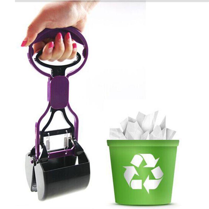 عملي القط الكلب فاسد النفايات بالمغرفة أنبوب مغرفة القرف نظف منتجات الحيوانات الأليفة الملحقات لأدوات التنظيف للكلاب والقطط