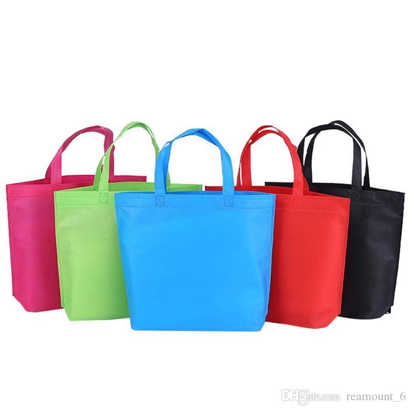 Shoppping Bag Reusable Supermarket Grocery Bags Eco Nonwoven Tote Bag Folding