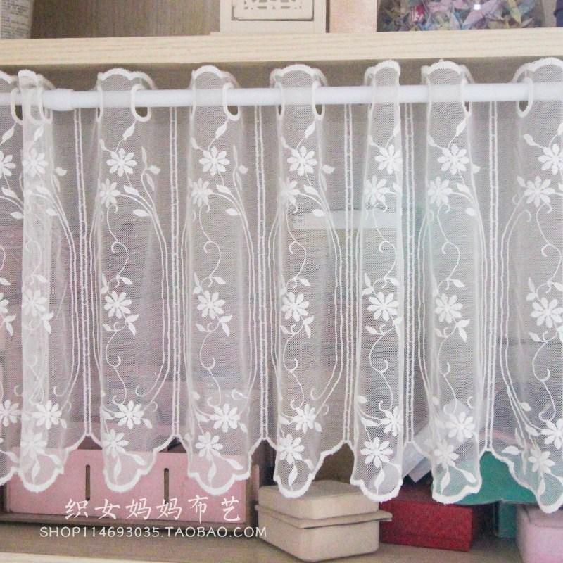 2019 Small Coffee Curtain For Kitchen Half Window Valance Curtain Rustic  Kitchen Curtains Styles Cafe Short Panel From Aldrichy, $35.11 | DHgate.Com