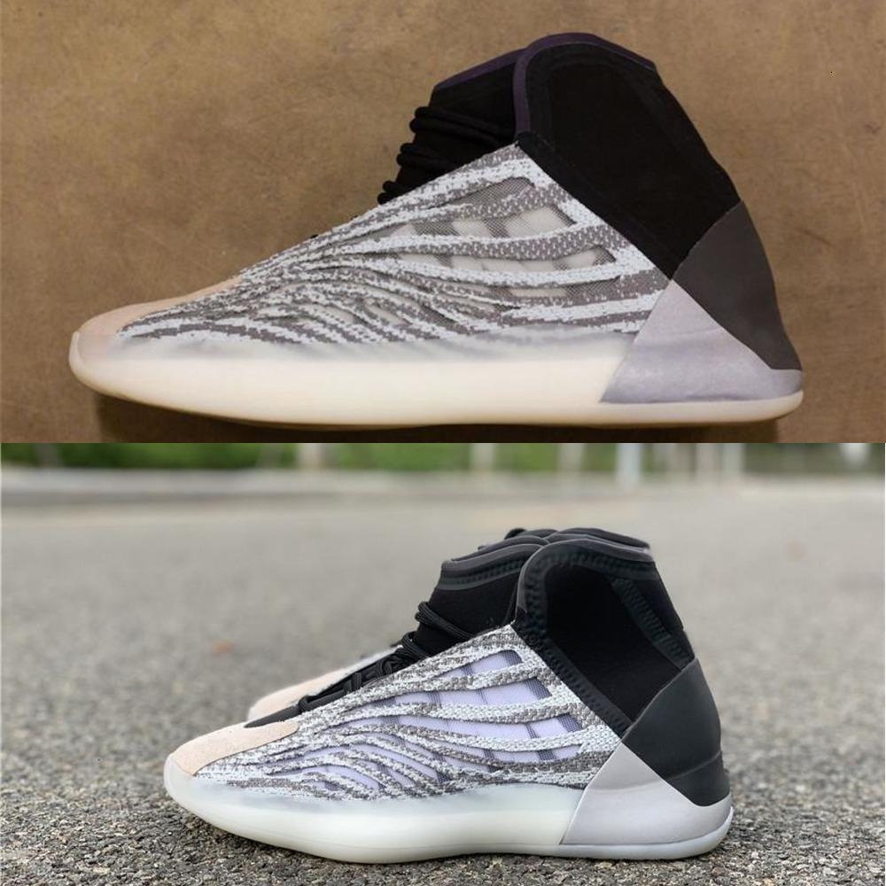 2020 الإصدار أصيل الكم أحذية رجالية عادية المرأة المافيا Eg1535 كاني ويست موجة عداء 3M احذية رياضية مع صندوق الأصل 5 -13