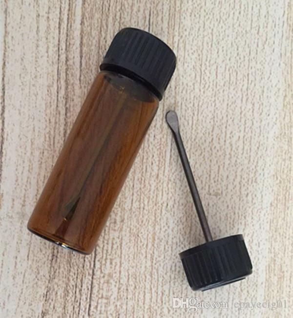 e cig dabber stick cera herramienta con 30 g pequeños frascos de vidrio vapor dab rig cera de vidrio aceite cotainer
