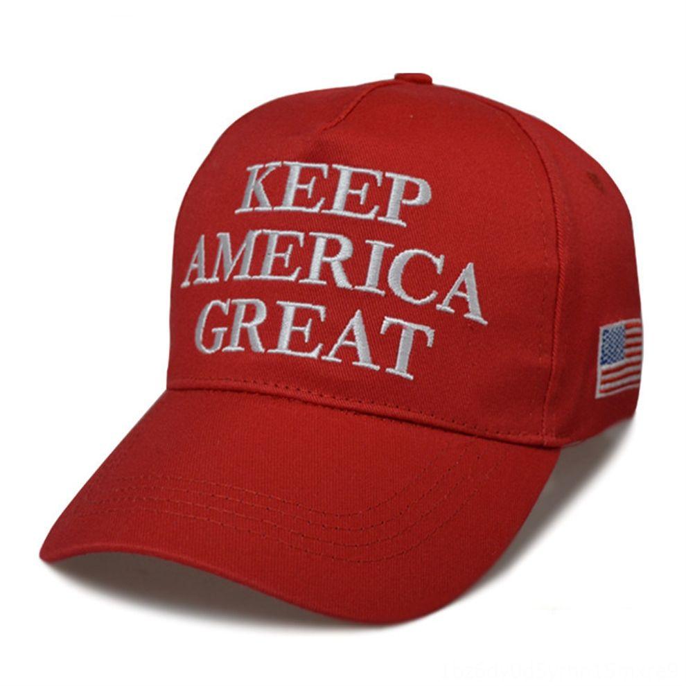 gRopO republicano Donald Trump 2020 casquillo de la bola hacer de Estados Unidos Gran nuevo sombrero bordado mantener Latina Gran sombrero tapas 1pcShip Presidente Trump