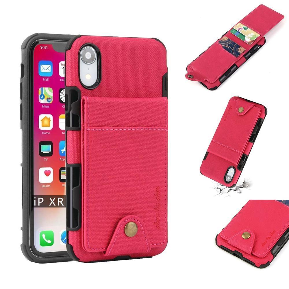 10 adet Dikey Silikon Flip up Deri Telefon Kılıfı Kapak Için Apple Iphone 6/7/8/ Artı / X / XR / XS / X Max Iphone XS IphoneXS Iphone8