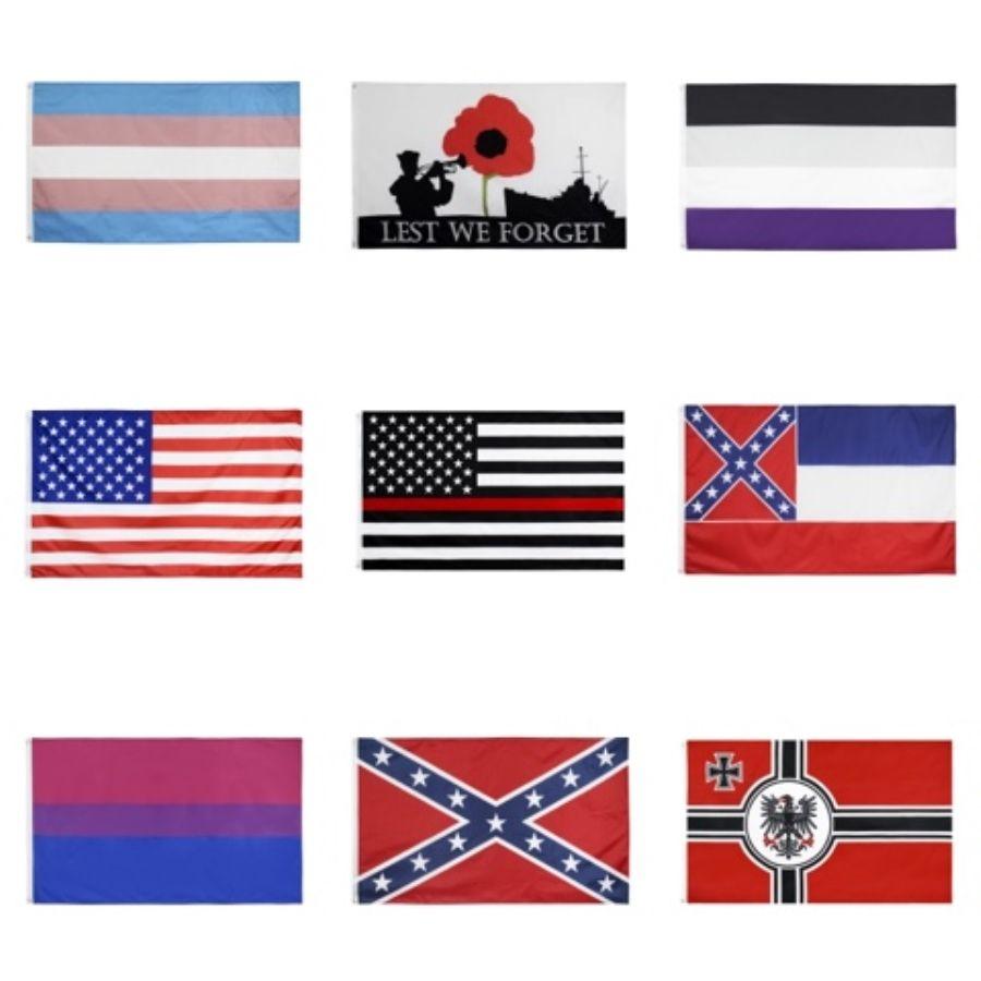 Hacer una bandera de encargo bandera del equipo de fútbol del club de encargo de la bandera digital del diseñador gráfico 100D Poliéster Pongee club Cresta todo el tamaño toda la insignia # 964