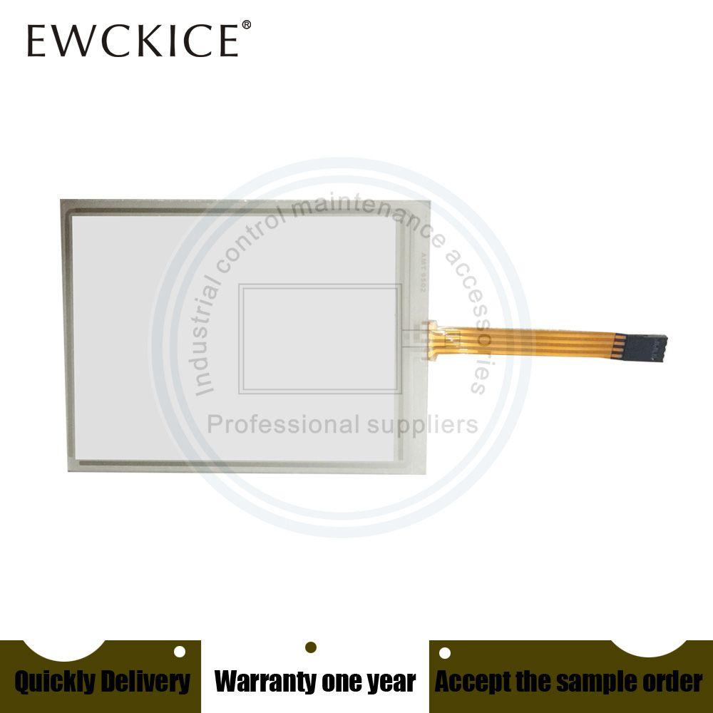 Original NEUE AMT 9502 AMT9502 AMT-9502 91-09502-00B 4Pin 5,8 Zoll PLC HMI Industrie Touchscreen panel Membran touchscreen