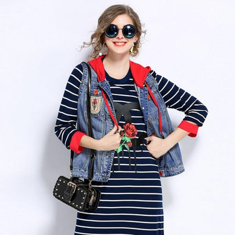 Plus Size Womens Vests 2020 Spring Autumn Fashion Woman Coat