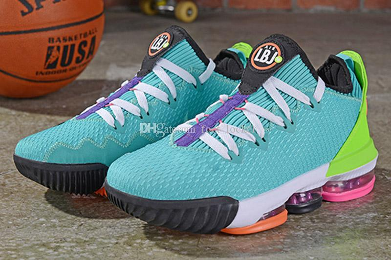 Mens Lebron 16 Low Basketball Shoes