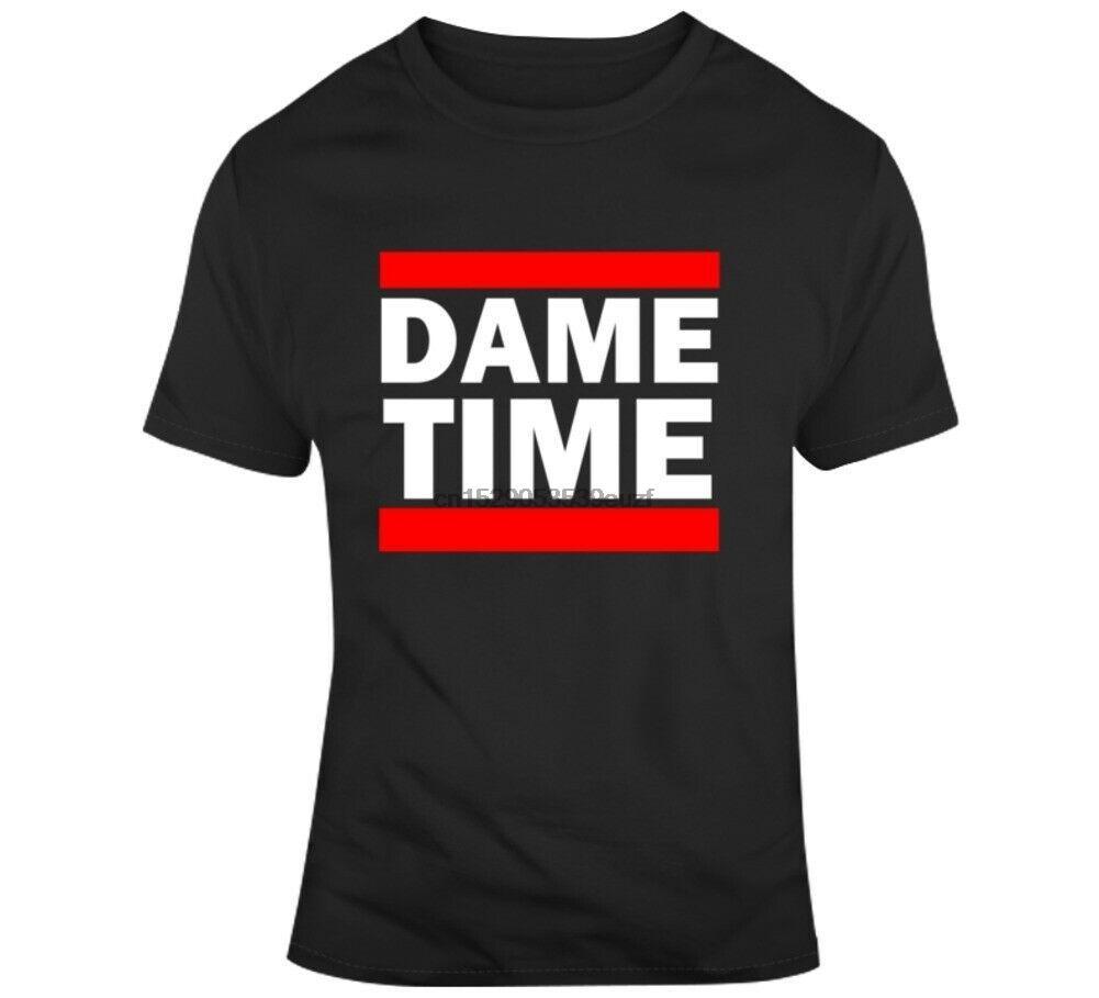 Damian Lillard Run Dame Time Portland Fan T Shirt