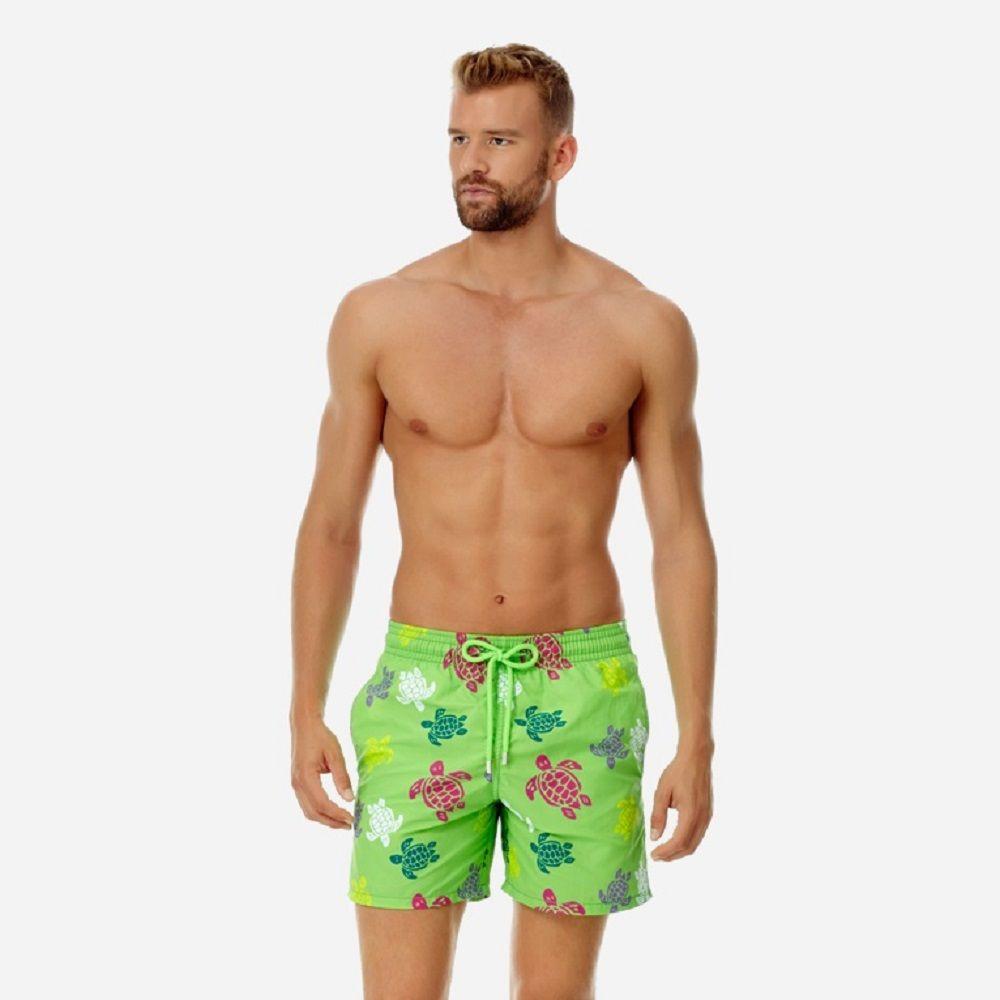 Vilebrequin mens Pantaloncini da spiaggia Vilebrequ pantaloncini 177 marchio Costumi da bagno polpo stella marina Turtle stampa maschile Pantaloncini da bagno Asciugatura rapida Vilebre
