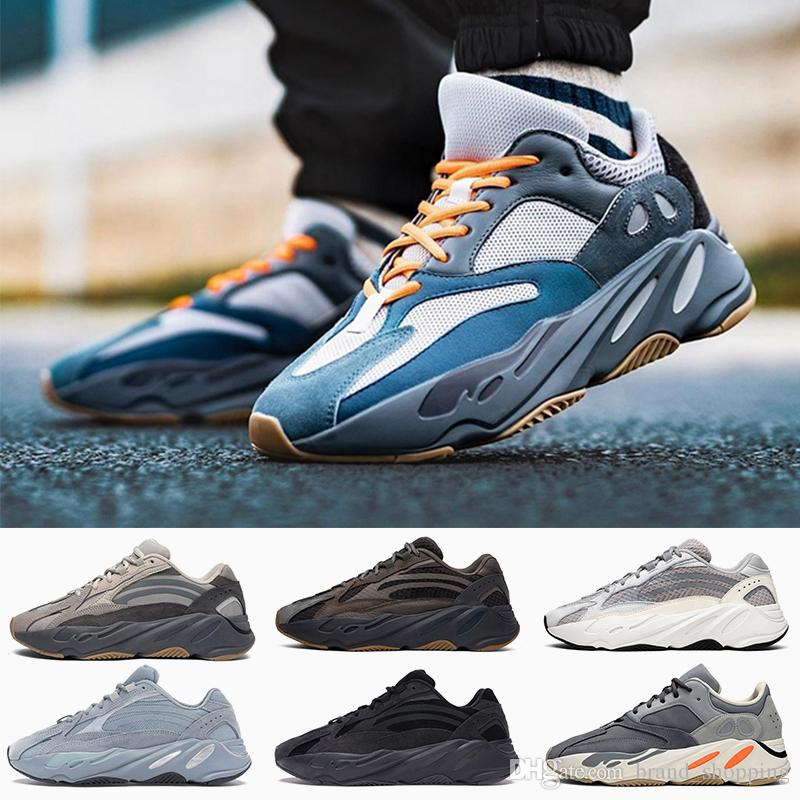 New Fashion Teal Blue 700 Mens Womens Running Shoes mens Runner Solid Grey Magnet Vanta Hospital Blue Tephra Static Trainers sports sneakers