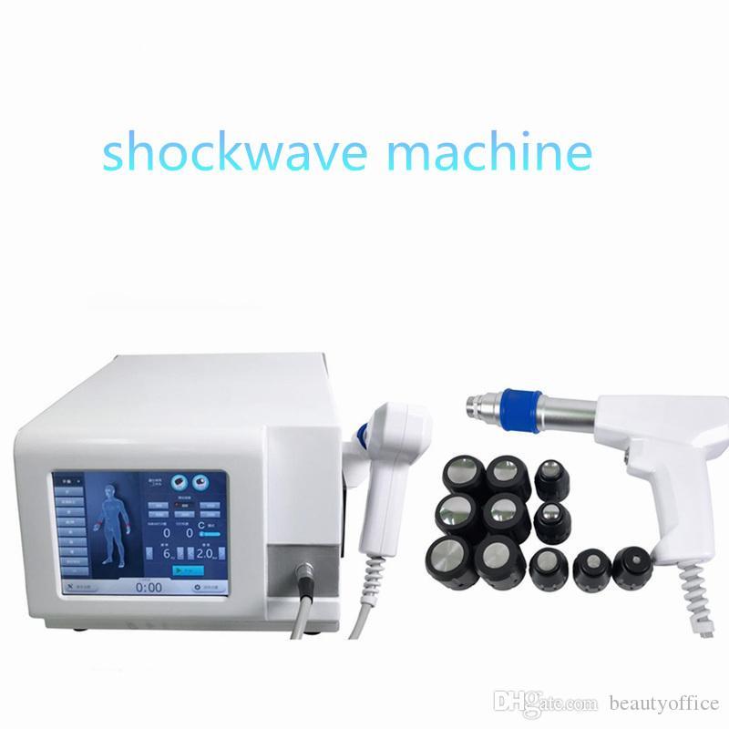 máquina de la onda de choque del precio de fábrica en venta caliente Celulitis terapia de ondas de choque neumático para la disfunción eréctil