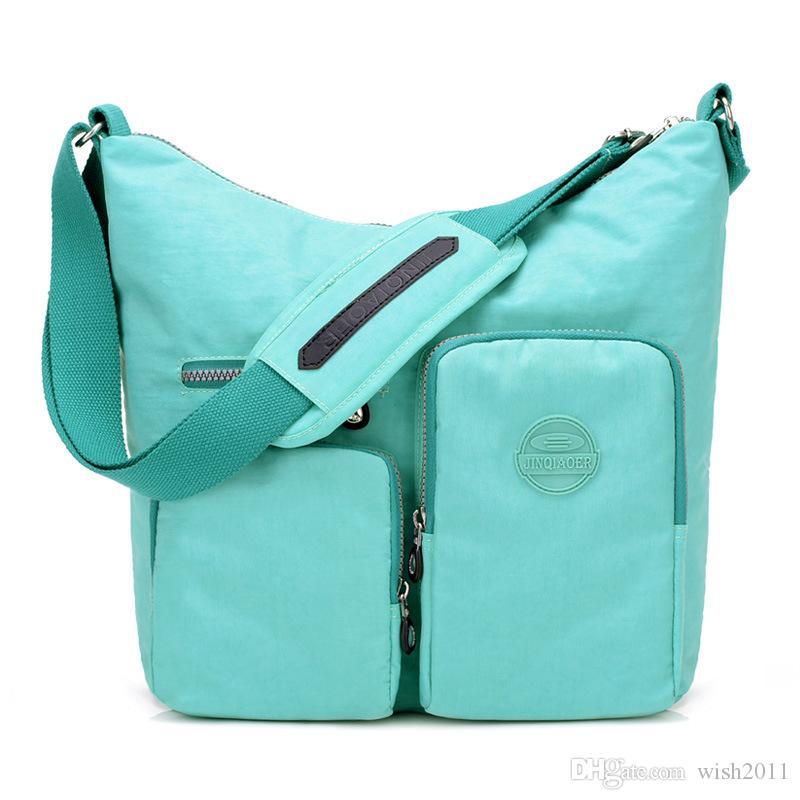 9ff0f10c71aa ... Hot Nylon Multi-Pocket Crossbody Bag NeatPack Crossbody Bag for Women  with Anti Theft RFID
