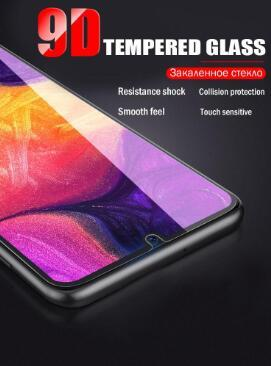 9D Curved Screen Protector For Samsung Galaxy A50 Tempered Glass A70 A40 A30 A10 A20 A80 A60 A90 A20E For M30 M10 M20 Glass Film
