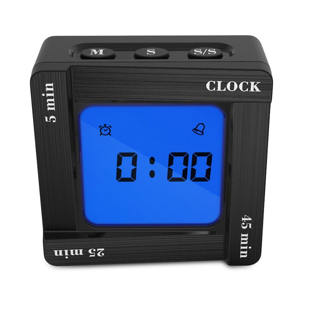 Flip Scientific Digital Clock-Zeit-Tomate-Timing Erinnerung Four Square Clock Home Office-Studie Dekor