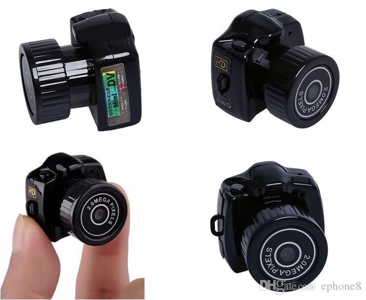 Y2000 고화질 휴대용 미니 카메라 스포츠 야외 미니 DV 작은 카메라 고품질 무료 선박 ephone8 2019