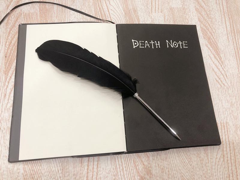 2019 Death Note Planner Anime Diary Cartoon Book Lovely Fashion Theme Ryuk