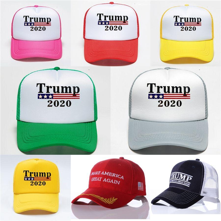Унисекс Trump 2020 Cap Bucket Hat Женщины Мужчины ВС Hat For Keep America Great президент Открытый пляж Cap Корабль Wx9-1421 # 897