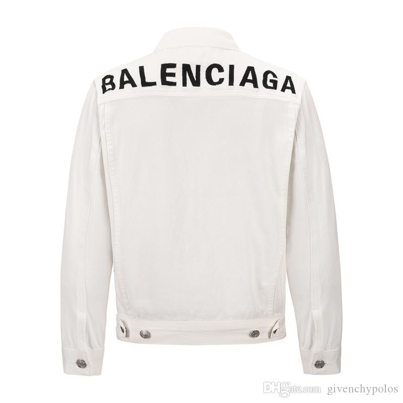 New Jeans Jacket Men Streets Designer Denim Coat Male Motorbike Jean Coat Jackets Sizes s-xl free shipping