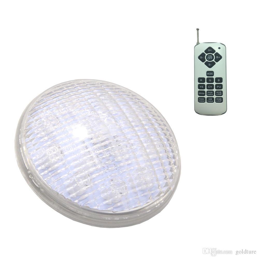 LED Piscina Light IP68 IP68 Impianto per stagno sott'acqua RGB PAR56 Lampadina 12V 22W 36W