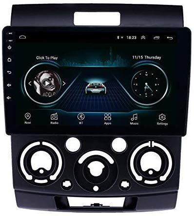 안드로이드 9.0 9 인치 포드 에베레스트 / 레인저 2006-2010 년을위한 쿼드 코어 플래시 32G 3G 와이파이 미러 링크 라디오 자동차 비디오 플레이어