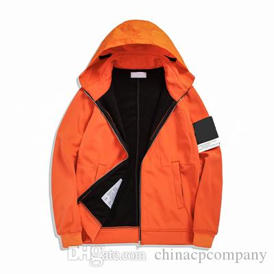 Topstoney 2020 Konng Gonng Lackel 자켓, 가을, 겨울 두건 재킷, 플러시 및 두꺼운 패션 캐주얼 코트