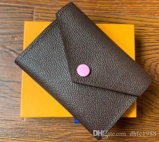 Button Designer Brieftaschen Neue kurze Dame Frauen Stil Zero Geldbörse Europäische Weibliche Kupplungen Casual Mode QPAHP