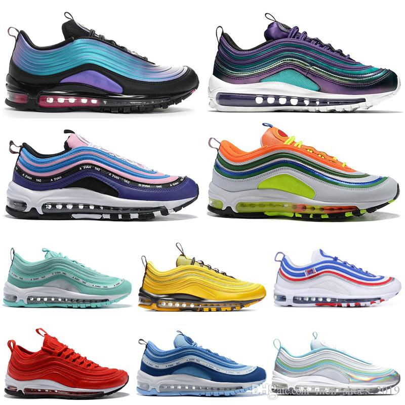 2020 Cheap Running shoes for Men Women Have a day Court purple Triple Black game royal Bright Citron Men Womens Sneakers Outdoors