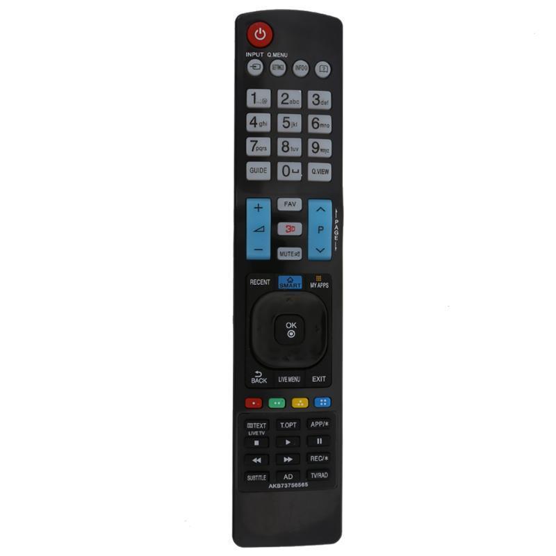 50pcs Универсальный ТВ пульт дистанционного управления бренда новый заменить телевизор пульт дистанционного управления для LG AKB73615303 3D TV Remote